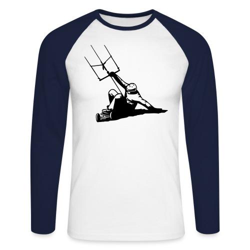 05 atb slide - Männer Baseballshirt langarm