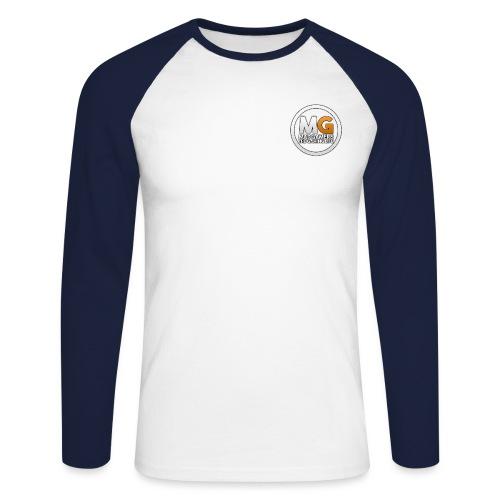 MadGamers Logo Transparent png - Men's Long Sleeve Baseball T-Shirt