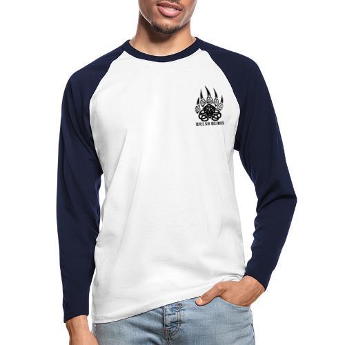 Welsh Bears - Men's Long Sleeve Baseball T-Shirt
