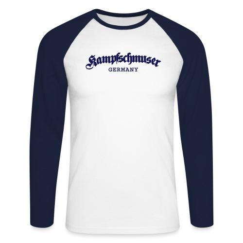 Kampfschmuser Germany - Männer Baseballshirt langarm