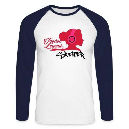 r - Men's Long Sleeve Baseball T-Shirt