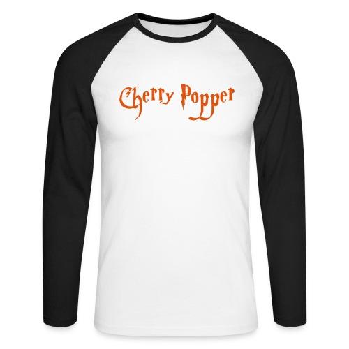 cherry vector - Men's Long Sleeve Baseball T-Shirt
