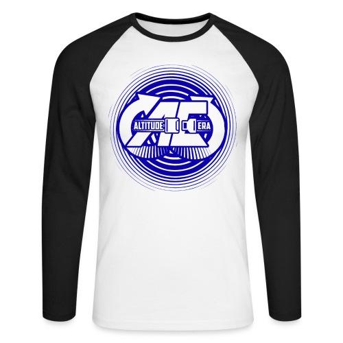 Altitude Era Circle Logo - Men's Long Sleeve Baseball T-Shirt