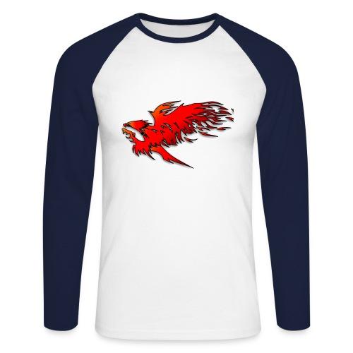 feueradler - Männer Baseballshirt langarm