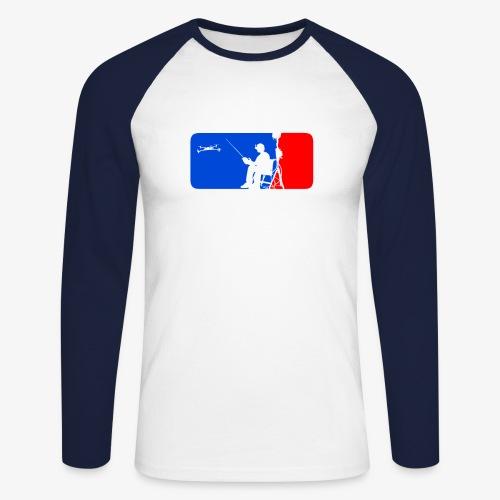 ML FPV Quad - Men's Long Sleeve Baseball T-Shirt