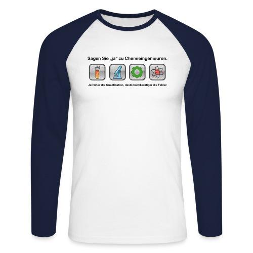 chem ing2 png - Männer Baseballshirt langarm