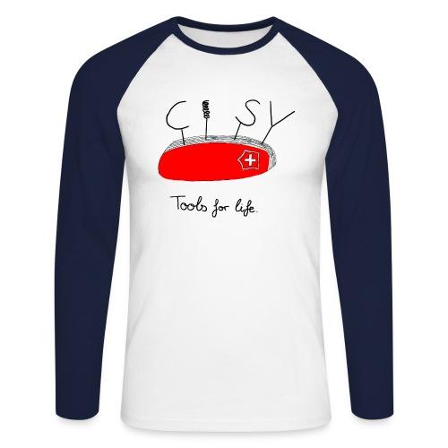 cisv 2 png - T-shirt baseball manches longues Homme