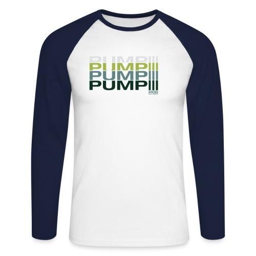 pump - Männer Baseballshirt langarm