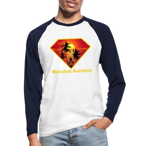 Sun - Männer Baseballshirt langarm