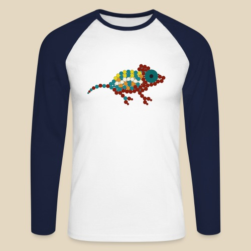 Chameleon - T-shirt baseball manches longues Homme