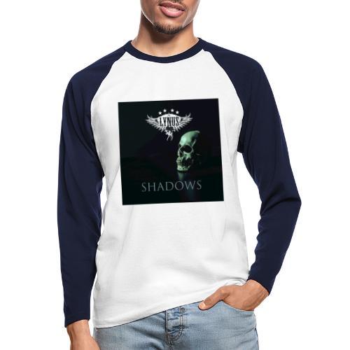 Lynus Shadows EP Art Promo Design - Men's Long Sleeve Baseball T-Shirt