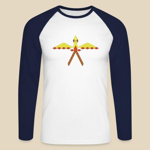Bird - T-shirt baseball manches longues Homme