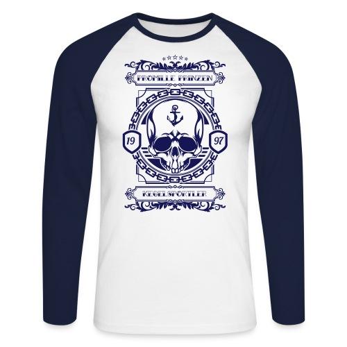 Totenkopf - KCP - Männer Baseballshirt langarm
