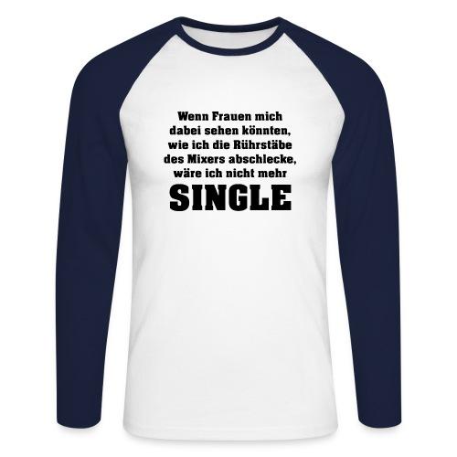 Single - Männer Baseballshirt langarm