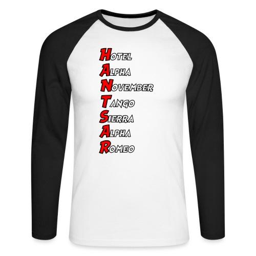 HANTSAR - Phonetic - Men's Long Sleeve Baseball T-Shirt