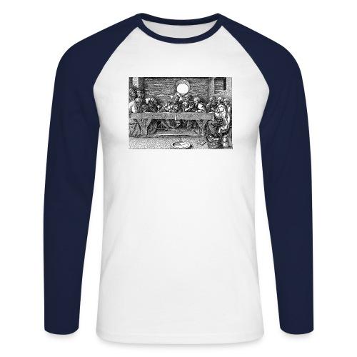 lastsupper - Men's Long Sleeve Baseball T-Shirt