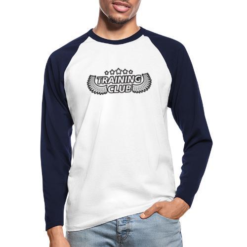 Training Club - Langærmet herre-baseballshirt