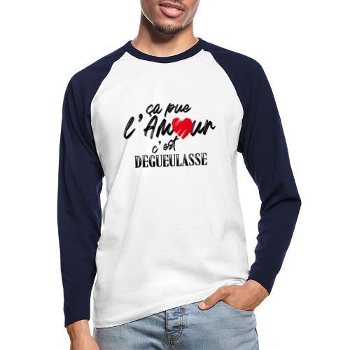 131286127 189323649502535 4736307516480817346 n - T-shirt baseball manches longues Homme