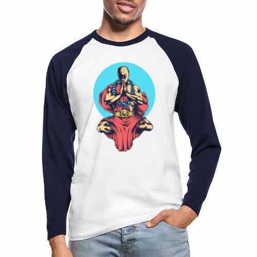 Inner Peace Inner Peace Gift Idea - Men's Long Sleeve Baseball T-Shirt