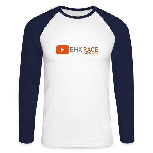 bmxlogov2 - Men's Long Sleeve Baseball T-Shirt