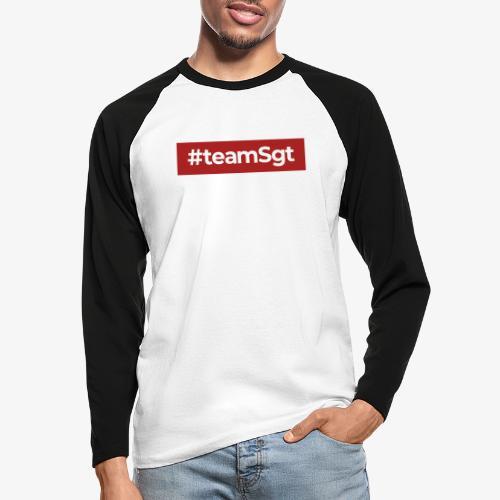 #teamSgt - Mannen baseballshirt lange mouw