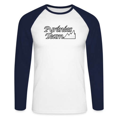 pteam 20 - T-shirt baseball manches longues Homme