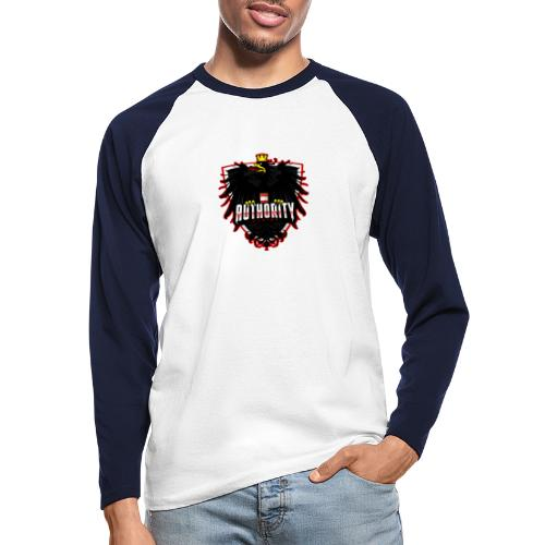AUThority Gaming red - Männer Baseballshirt langarm