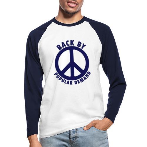 Back by popular demand - Männer Baseballshirt langarm