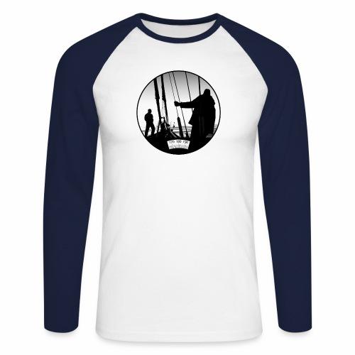 deck chair - Men's Long Sleeve Baseball T-Shirt