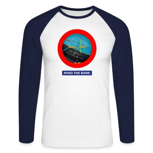 mindthebank1 - Männer Baseballshirt langarm