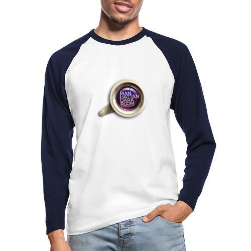 THE MANHATTAN DARKROOM OBJECTIF 2 - T-shirt baseball manches longues Homme