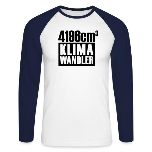 Klimawandler Mercedes 420 SE L - Men's Long Sleeve Baseball T-Shirt