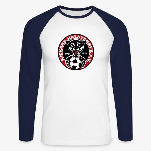 KICKERS HALSTENBEK LOGO png - Männer Baseballshirt langarm