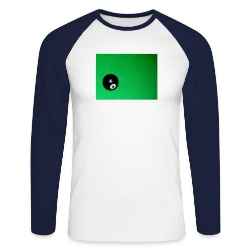 poolball - Men's Long Sleeve Baseball T-Shirt