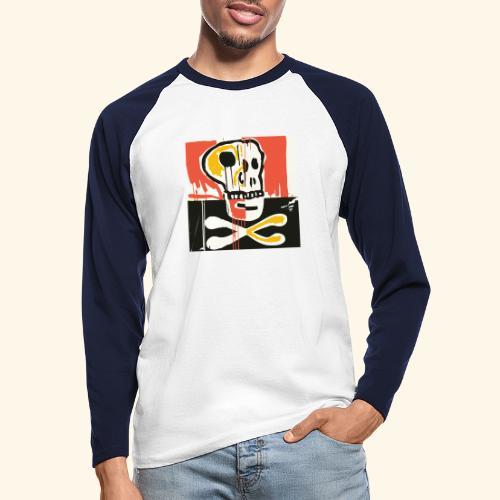 Memento - T-shirt baseball manches longues Homme