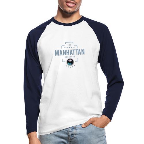 MANHATTAN DARKROOM VINTAGE - T-shirt baseball manches longues Homme