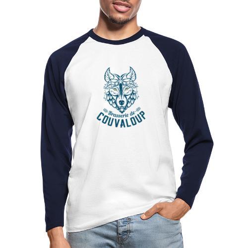 Original Blue Logo - T-shirt baseball manches longues Homme