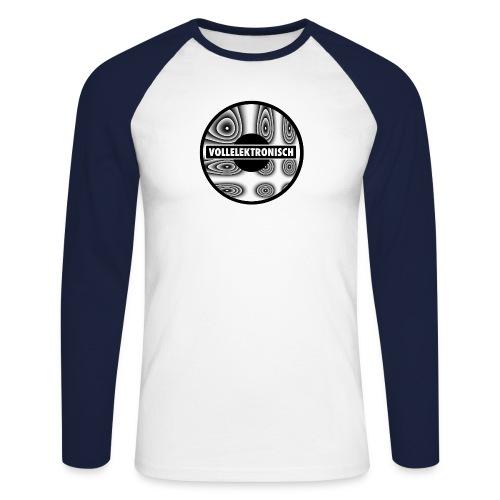 llusion - Männer Baseballshirt langarm