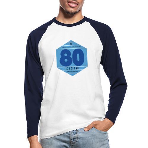 Vignette automobile 1980 - T-shirt baseball manches longues Homme
