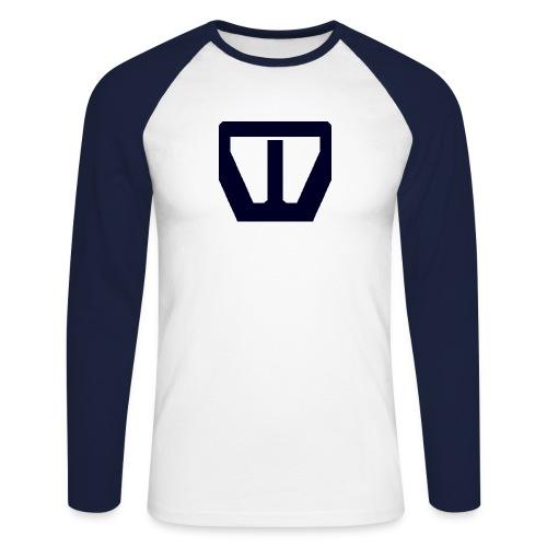 oie transparent navy groot png - Mannen baseballshirt lange mouw