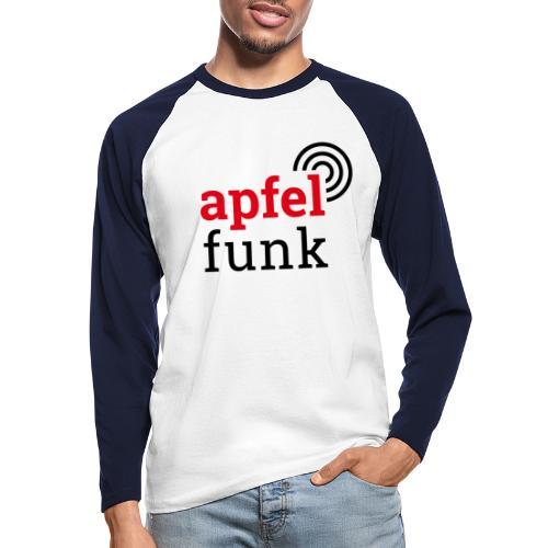Apfelfunk Edition - Männer Baseballshirt langarm