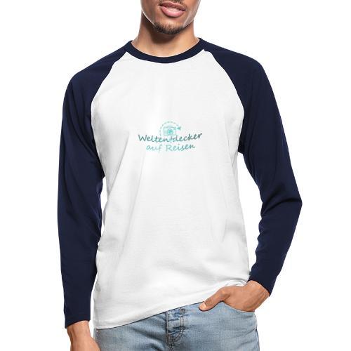 Weltentdecker auf Reisen - Männer Baseballshirt langarm