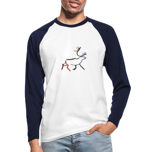 Rein - Langermet baseball-skjorte for menn