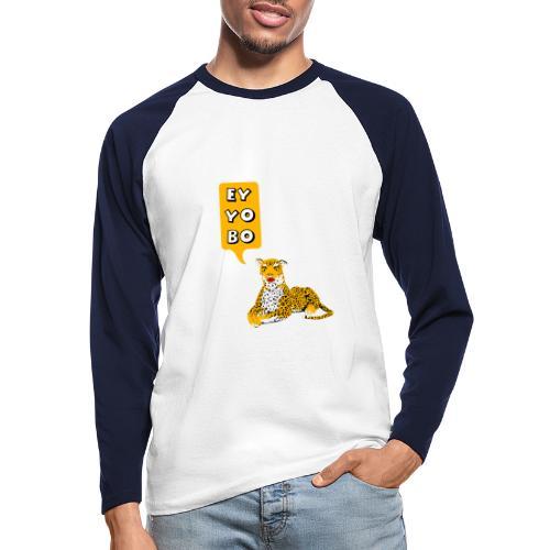 EY YO BO - Männer Baseballshirt langarm