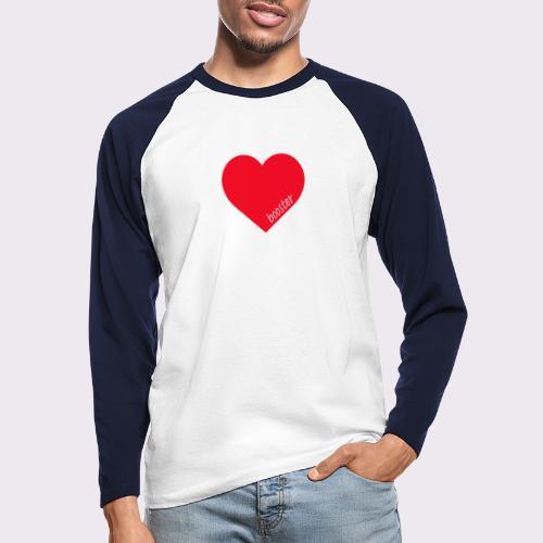 lovebooster - Men's Long Sleeve Baseball T-Shirt