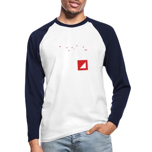 BULGEBULL ICON2 2015 - Men's Long Sleeve Baseball T-Shirt