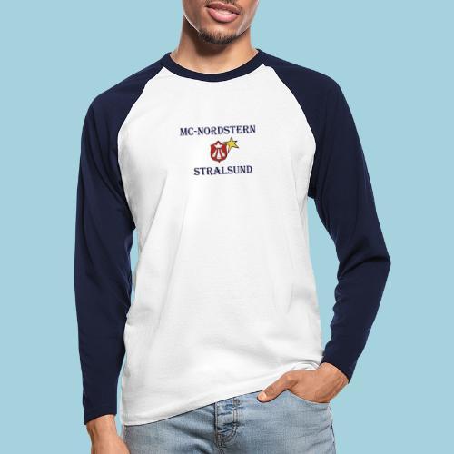 mcn_schrift - Männer Baseballshirt langarm