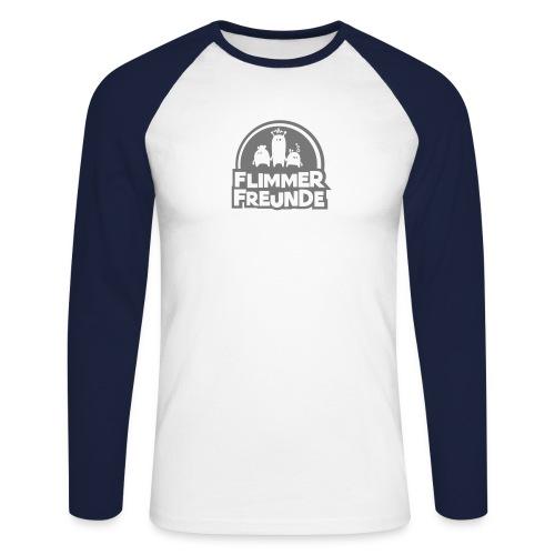 motiv 7 flimmerfreunde - Männer Baseballshirt langarm