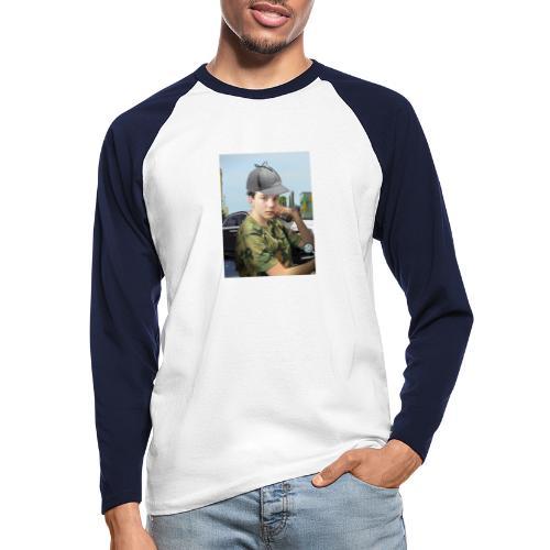 Detektiv Laurin - Männer Baseballshirt langarm