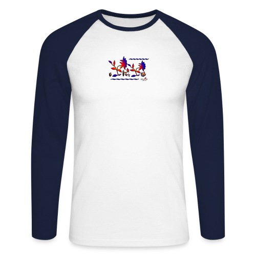 stefline5 - T-shirt baseball manches longues Homme